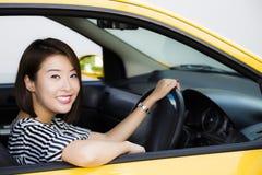 Γυναικείος οδηγός Στοκ Εικόνες