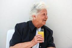 γυναικείος παλαιός πορ&t Στοκ Εικόνες