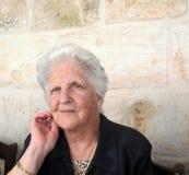 γυναικείος παλαιός όμορ& στοκ φωτογραφία με δικαίωμα ελεύθερης χρήσης