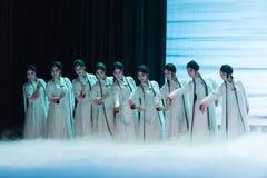 """γυναικείος ρόλος σε ένα παιχνίδι-Kunqu Opera""""Madame άσπρο Snake† Στοκ Εικόνες"""