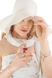 γυναικείο άρωμα Στοκ εικόνες με δικαίωμα ελεύθερης χρήσης