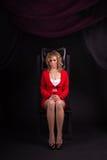 γυναικείο κόκκινο σεξ&omicron Στοκ Φωτογραφία