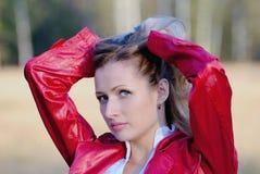 γυναικείο κόκκινο Στοκ Φωτογραφίες