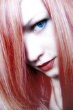 γυναικείο κόκκινο Στοκ εικόνες με δικαίωμα ελεύθερης χρήσης