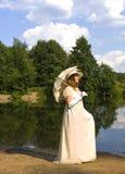 γυναικείο λευκό Στοκ φωτογραφία με δικαίωμα ελεύθερης χρήσης