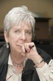 γυναικείο πορτρέτο Στοκ φωτογραφία με δικαίωμα ελεύθερης χρήσης