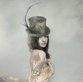 Γυναικείο πορτρέτο Στοκ εικόνα με δικαίωμα ελεύθερης χρήσης