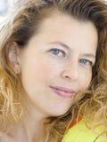γυναικείο πορτρέτο Στοκ Εικόνες
