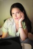 γυναικείο σημειωματάρι&omi Στοκ εικόνα με δικαίωμα ελεύθερης χρήσης