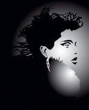 γυναικείο ύφος τριχώματ&omicron Στοκ φωτογραφία με δικαίωμα ελεύθερης χρήσης