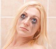 γυναικείο makup smudge Στοκ φωτογραφία με δικαίωμα ελεύθερης χρήσης