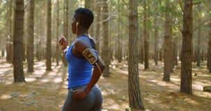 Γυναικών δασικό 4k απόθεμα βίντεο