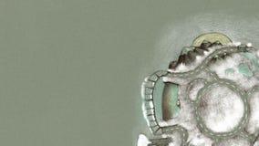 Γυρίζοντας ζωτικότητα χειμερινών σφαιρών - κινηματογράφηση σε πρώτο πλάνο, HD, βρόχος ικανός απεικόνιση αποθεμάτων