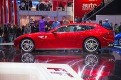ΓΦ Ferrari στοκ φωτογραφίες με δικαίωμα ελεύθερης χρήσης