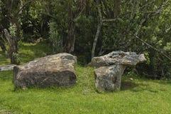 Γωνία για την ανάπαυση στην επιφύλαξη φύσης Κουά Ζούλου Νατάλ στοκ φωτογραφία με δικαίωμα ελεύθερης χρήσης