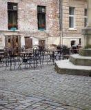 Γωνία πεζουλιών Στοκ εικόνα με δικαίωμα ελεύθερης χρήσης