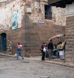 Γωνία σε Cusco, Περού Στοκ φωτογραφίες με δικαίωμα ελεύθερης χρήσης