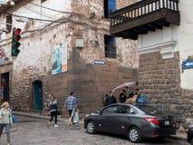 Γωνία σε Cusco, Περού Στοκ εικόνα με δικαίωμα ελεύθερης χρήσης