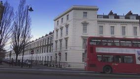 Γωνία του δρόμου στο Λονδίνο Millbank φιλμ μικρού μήκους