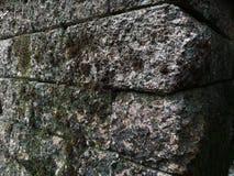 Γωνία του τοίχου βράχου Στοκ Εικόνες