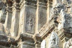 Γωνίες της Καμπότζης της ομάδας Angkor Wat Roulos στοκ φωτογραφίες με δικαίωμα ελεύθερης χρήσης