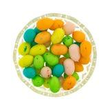 Γόμμα φυσαλίδων αυγών Πάσχας σε ένα μικρό κύπελλο Στοκ Εικόνες