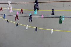 Γόμφοι ενδυμάτων Στοκ εικόνες με δικαίωμα ελεύθερης χρήσης