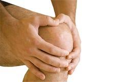 γόνατο πόνου Στοκ Φωτογραφία