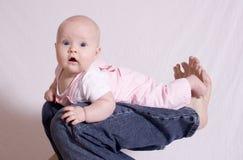γόνατο s πατέρων Στοκ εικόνες με δικαίωμα ελεύθερης χρήσης