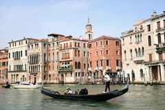 γόνδολα Βενετία Στοκ εικόνες με δικαίωμα ελεύθερης χρήσης