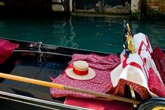 γόνδολα Βενετία Στοκ Εικόνες
