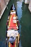 γόνδολα Βενετία Στοκ Εικόνα