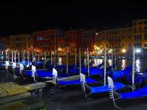 Γόνδολα - μοναδικός τρόπος του ταξιδιού στη Βενετία Στοκ φωτογραφίες με δικαίωμα ελεύθερης χρήσης