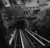 Γόνδολα στην πόλη του Κεμπέκ στοκ εικόνες με δικαίωμα ελεύθερης χρήσης