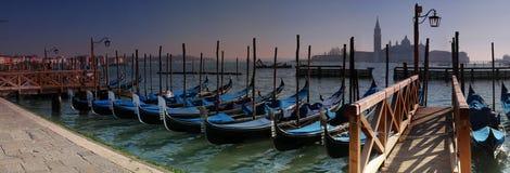 γόνδολες Βενετία Στοκ Εικόνες