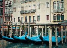 γόνδολες Βενετία Στοκ φωτογραφία με δικαίωμα ελεύθερης χρήσης
