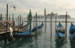 Γόνδολες. Βενετία Στοκ εικόνες με δικαίωμα ελεύθερης χρήσης