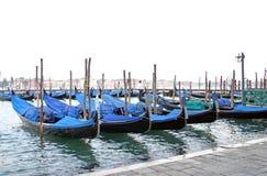 γόνδολες Βενετία Στοκ φωτογραφίες με δικαίωμα ελεύθερης χρήσης
