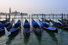 γόνδολες Ιταλία Βενετία Στοκ Φωτογραφία