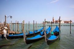 γόνδολες Ιταλία Βενετία Στοκ Εικόνες
