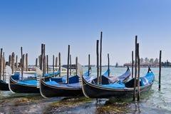γόνδολες Ιταλία Βενετία Στοκ εικόνες με δικαίωμα ελεύθερης χρήσης