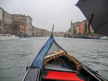 Γόνδολες και κανάλια στη Βενετία, Ιταλία στοκ φωτογραφία με δικαίωμα ελεύθερης χρήσης