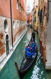Γόνδολα, Βενετία Στοκ Φωτογραφίες