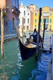 γόνδολα Βενετία Στοκ φωτογραφίες με δικαίωμα ελεύθερης χρήσης