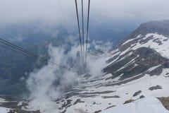 Γόνδολα σκι Στοκ Εικόνα