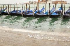 Γόνδολα στη Βενετία στην Ιταλία Στοκ Εικόνες