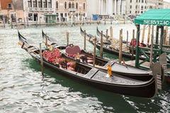 Γόνδολα στη Βενετία στην Ιταλία Στοκ Εικόνα