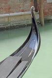 Γόνδολα στο μεγάλο κανάλι Βενετία Ιταλία Στοκ φωτογραφία με δικαίωμα ελεύθερης χρήσης