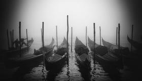 γόνδολες Βενετία Στοκ Φωτογραφίες