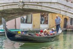 γόνδολες Ιταλία Βενετία Στοκ εικόνα με δικαίωμα ελεύθερης χρήσης